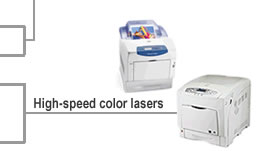 compare High-speed color laser